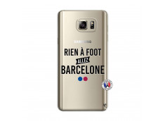 Coque Samsung Galaxy Note 5 Rien A Foot Allez Barcelone
