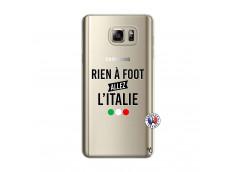 Coque Samsung Galaxy Note 5 Rien A Foot Allez L'Italie