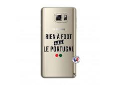 Coque Samsung Galaxy Note 5 Rien A Foot Allez Le Portugal