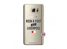 Coque Samsung Galaxy Note 5 Rien A Foot Allez Liverpool