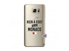 Coque Samsung Galaxy Note 5 Rien A Foot Allez Monaco