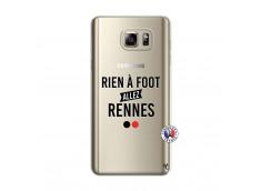 Coque Samsung Galaxy Note 5 Rien A Foot Allez Rennes