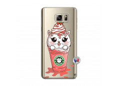 Coque Samsung Galaxy Note 5 Catpucino Ice Cream