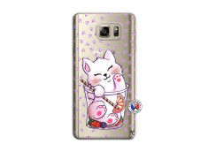 Coque Samsung Galaxy Note 5 Smoothie Cat