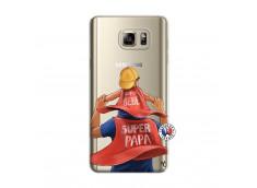 Coque Samsung Galaxy Note 5 Super Papa et Super Bébé