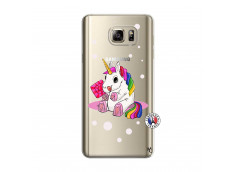 Coque Samsung Galaxy Note 5 Sweet Baby Licorne