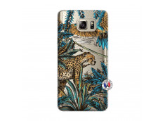 Coque Samsung Galaxy Note 5 Leopard Jungle