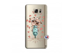 Coque Samsung Galaxy Note 5 Puppies Love