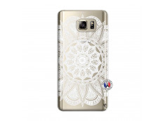 Coque Samsung Galaxy Note 5 White Mandala