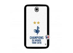 Coque Samsung Galaxy Note 8.0 Champion Du Monde Noir