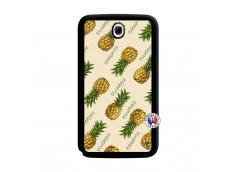 Coque Samsung Galaxy Note 8.0 Sorbet Ananas Noir