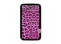 Coque Samsung Galaxy Note 8.0 Pink Leopard Noir