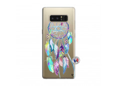 Coque Samsung Galaxy Note 8 Blue Painted Dreamcatcher