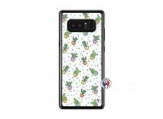 Coque Samsung Galaxy Note 8 Le Monde Entier est un Cactus Translu