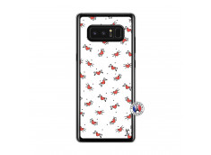 Coque Samsung Galaxy Note 8 Cartoon Heart Translu