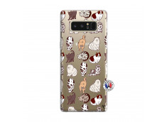 Coque Samsung Galaxy Note 8 Cat Pattern