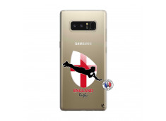 Coque Samsung Galaxy Note 8 Coupe du Monde Rugby-England