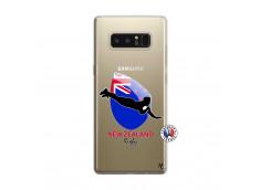 Coque Samsung Galaxy Note 8 Coupe du Monde Rugby- Nouvelle Zélande