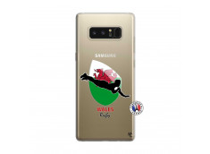 Coque Samsung Galaxy Note 8 Coupe du Monde Rugby-Walles
