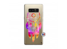 Coque Samsung Galaxy Note 8 Dreamcatcher Rainbow Feathers