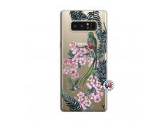 Coque Samsung Galaxy Note 8 Flower Birds