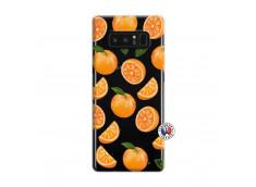 Coque Samsung Galaxy Note 8 Orange Gina