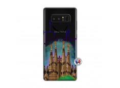 Coque Samsung Galaxy Note 8 I Love Barcelona