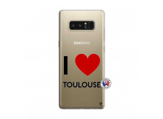 Coque Samsung Galaxy Note 8 I Love Toulouse