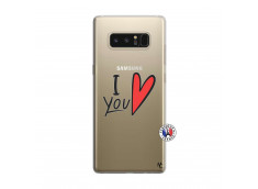 Coque Samsung Galaxy Note 8 I Love You