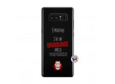 Coque Samsung Galaxy Note 8 J Peux Pas J Ai Un Braquage Avec Le Professeur