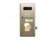 Coque Samsung Galaxy Note 8 Jamais Sans Ma Blonde