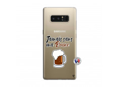 Coque Samsung Galaxy Note 8 Jamais Sans Ma Brune