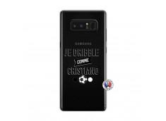Coque Samsung Galaxy Note 8 Je Dribble Comme Cristiano
