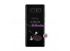 Coque Samsung Galaxy Note 8 Je Peux Pas J Ai Badminton