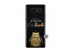 Coque Samsung Galaxy Note 8 Je Peux Pas J Ai Rando