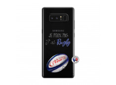 Coque Samsung Galaxy Note 8 Je Peux Pas J Ai Rugby