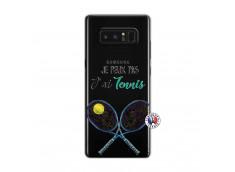 Coque Samsung Galaxy Note 8 Je Peux Pas J Ai Tennis