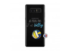 Coque Samsung Galaxy Note 8 Je Peux Pas J Ai Volley