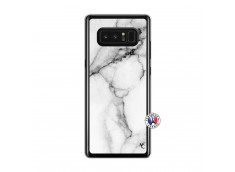 Coque Samsung Galaxy Note 8 White Marble Translu