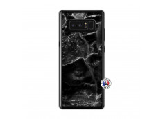Coque Samsung Galaxy Note 8 Black Marble Translu