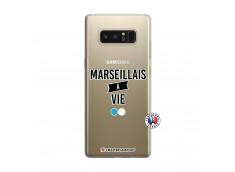 Coque Samsung Galaxy Note 8 Marseillais à Vie