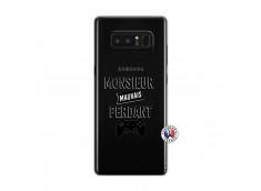 Coque Samsung Galaxy Note 8 Monsieur Mauvais Perdant