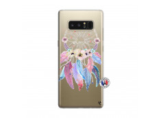 Coque Samsung Galaxy Note 8 Multicolor Watercolor Floral Dreamcatcher