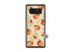Coque Samsung Galaxy Note 8 Sorbet Pêche Translu