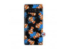 Coque Samsung Galaxy Note 8 Poisson Clown