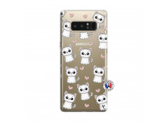 Coque Samsung Galaxy Note 8 Petits Chats