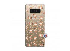 Coque Samsung Galaxy Note 8 Petits Renards