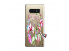Coque Samsung Galaxy Note 8 Pink Painted Dreamcatcher