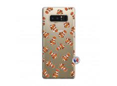 Coque Samsung Galaxy Note 8 Petits Poissons Clown