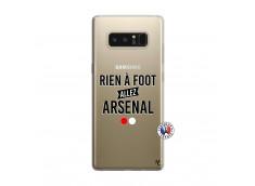 Coque Samsung Galaxy Note 8 Rien A Foot Allez Arsenal